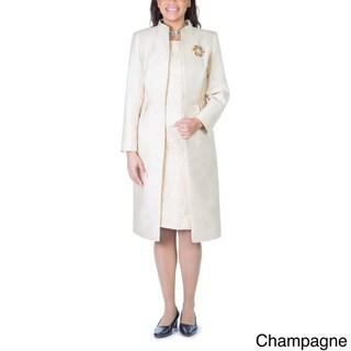 2 piece long dress jacket