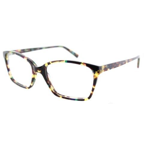 Lafont Pensee 7036 Violet Havana Plastic Rectangle 54mm Eyeglasses