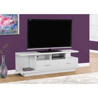 "TV Stand-60""L/White"