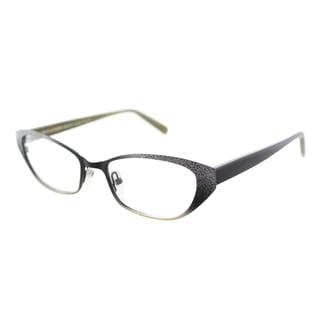 Lafont Renata 100 Silver and black Small Cat Eye 51mm Eyeglasses