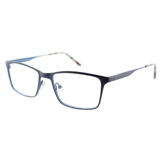 Lafont Respect 3059 Navy Metal Rectangle 53mm Eyeglasses