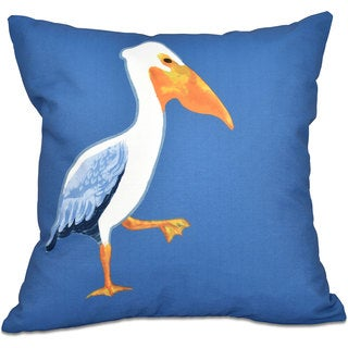 Pelican March Animal Print 16-inch Throw Pillow