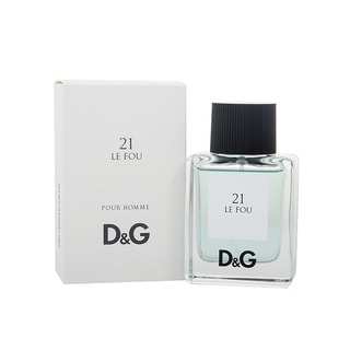 Dolce and Gabbana Le Fou 21 Men's 1.7-ounce Eau de Toilette Spray