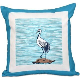 Sandbar Animal Print 16-inch Throw Pillow