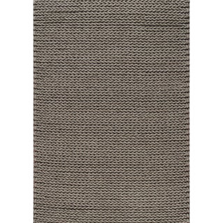 Alta Alprine Grey Chevron Weaved Rug (5'3 x 7'7)