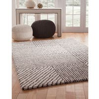"Greyson Living Nouveau Ivory/ Chocolate Olefin Area Rug - 7'10"" x 11'2"""