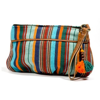Handmade Boho Clutch Bag (India)