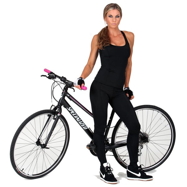 Instantfigure Compression Padded Cycling Pant