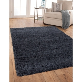 Greyson Living Willow Blue Olefin Area Rug (5'3 x 7'6)