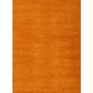 Greyson Living Willow Orange Olefin Area Rug (5'3 x 7'6)