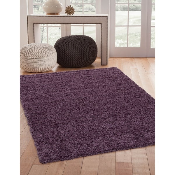 "Greyson Living Willow Lilac Olefin Area Rug (5'3 x 7'6) - 5'3"" x 7'9"""