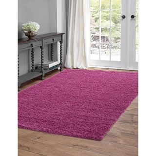 Greyson Living Willow Pink Olefin Area Rug (5'3 x 7'6)