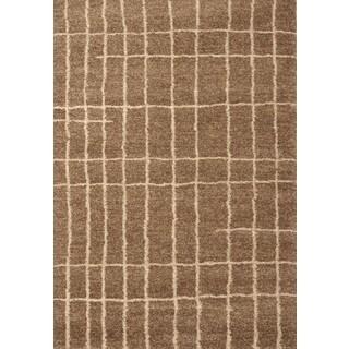 Greyson Living Allegri Med. Brown/ Ivory Olefin Area Rug (7'10 x 11'2)
