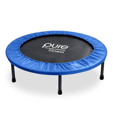 Pure Fitness 40-inch Exercise Mini Trampoline