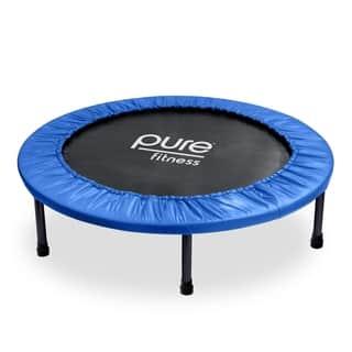 Pure Fitness 40-inch Mini Trampoline|https://ak1.ostkcdn.com/images/products/11483847/P18438123.jpg?impolicy=medium