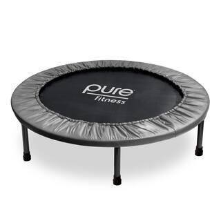 Pure Fitness 38-inch Mini Trampoline|https://ak1.ostkcdn.com/images/products/11483849/P18438124.jpg?impolicy=medium