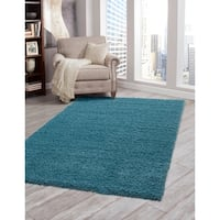 "Willow Teal Olefin Area Rug by Greyson Living (7'9 x 10'6) - 7'9"" x 10'6"""