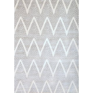 Greyson Living Benton Silver-grey/ White Viscose Area Rug (7'10 x 11'2)