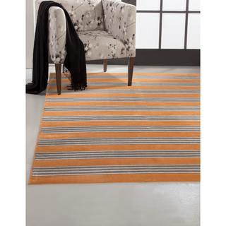 Greyson Living Spencer Tangerine Viscose Area Rug (7'10 x 11'2)