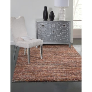 Greyson Living Elmwood Red/ Multi Olefin Area Rug (7'10 x 11'2)
