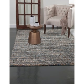 Greyson Living Elmwood Blue/ Multi Olefin Area Rug (7'10 x 11'2)