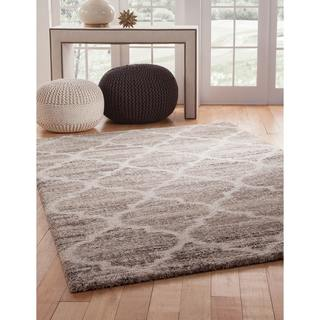 Greyson Living Palace Ivory/ Tan/ Brown Olefin Area Rug (7'10 x 11'2)
