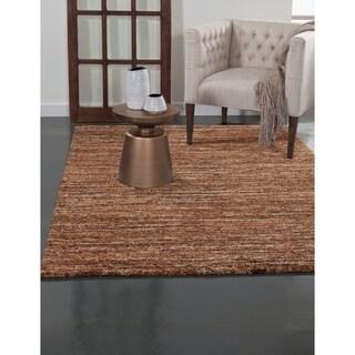 Greyson Living Elmwood Rust/ Orange/ Brown/ Multi Olefin Area Rug (7'10 x 11'2)