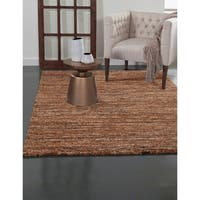 Greyson Living Elmwood Rust/ Orange/ Brown/ Multi Olefin Area Rug - 7'9 x 10'6