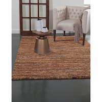 Greyson Living Elmwood Rust/ Orange/ Brown/ Multi Olefin Area Rug (7'9 x 10'6)