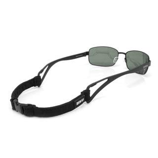 Zoinx Wrap 61MM Polarized Sunglasses with All Black Zipper Pouch Strap