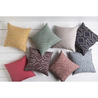 Decorative Long 22-inch Poly or Down Filled Throw Pillow