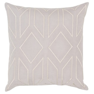 Decorative Long 20-inch Poly or Feather Down Filled Throw Pillow