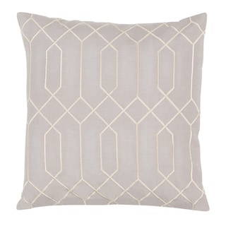 Decorative Main 20-inch Poly or Down Filled Throw Pillow