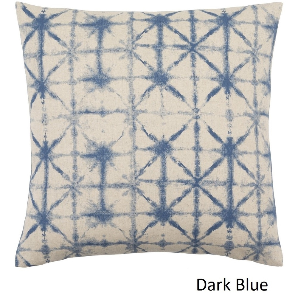 Shop Decorative Pali 20-inch Poly or Feather Down Filled Throw Pillow - 11484027