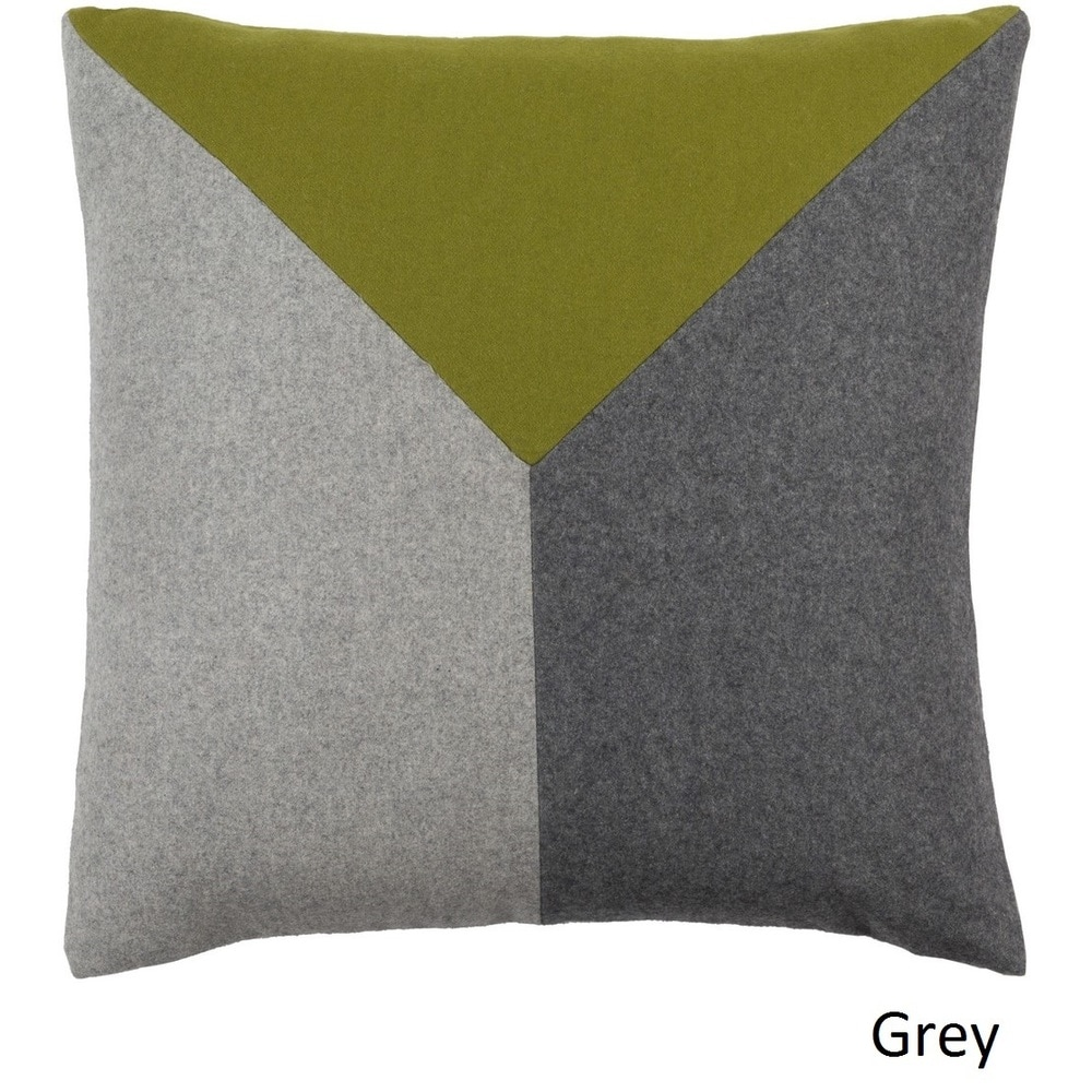 Shop Decorative Oxon 20-inch Poly or Feather Down Filled Throw Pillow - Overstock - 11484029