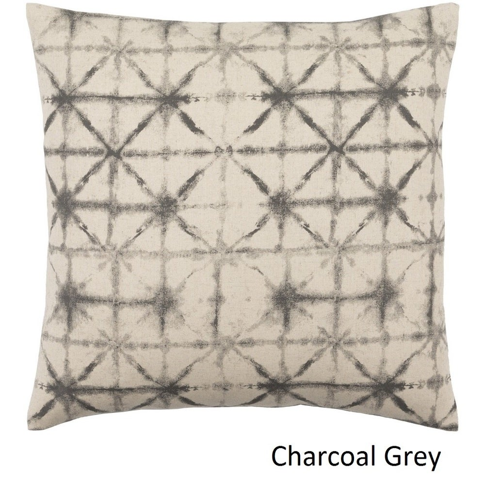 Shop Decorative Pali 18-inch Poly or Feather Down Filled Throw Pillow - 11484031