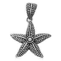 Handmade Sterling Silver Starfish Cawi Pendant (Indonesia)