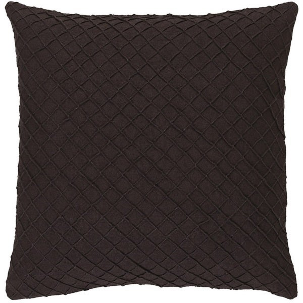 Decorative Reed 22-inch Poly or Feather Down Filled Throw Pillow
