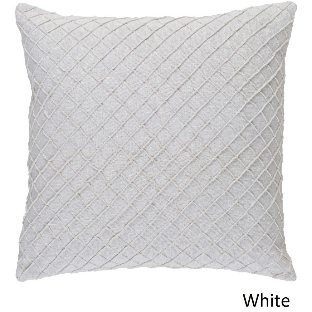 Shop Decorative Reed 22-inch Poly or Feather Down Filled Throw Pillow - Overstock - 11484037