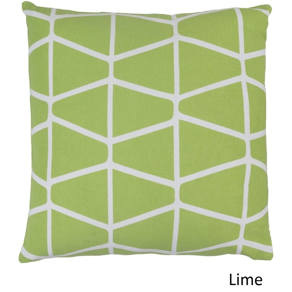 Shop Decorative Pole 22-inch Poly or Feather Down Filled Throw Pillow - Overstock - 11484041