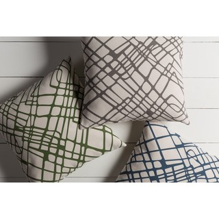 Decorative Pine 20-inch Poly or Down Filled Throw Pillow