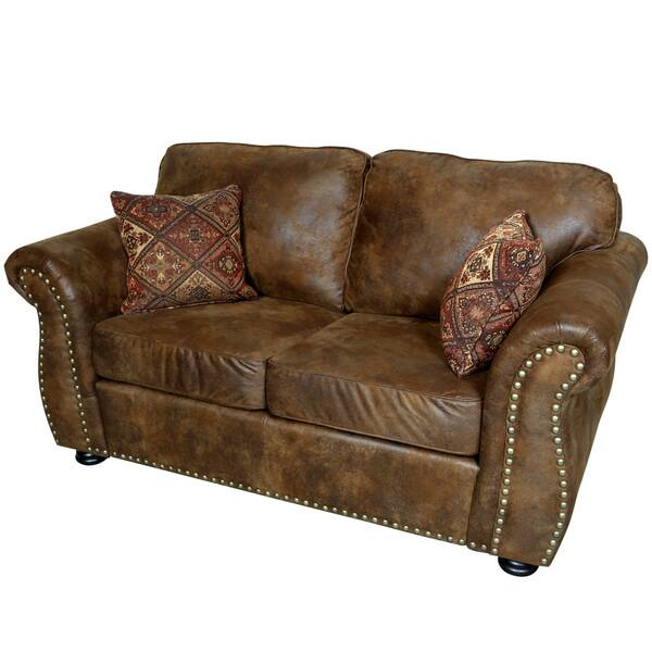 Marvelous Shop Porter Elk River Brown Faux Leather Microfiber Uwap Interior Chair Design Uwaporg