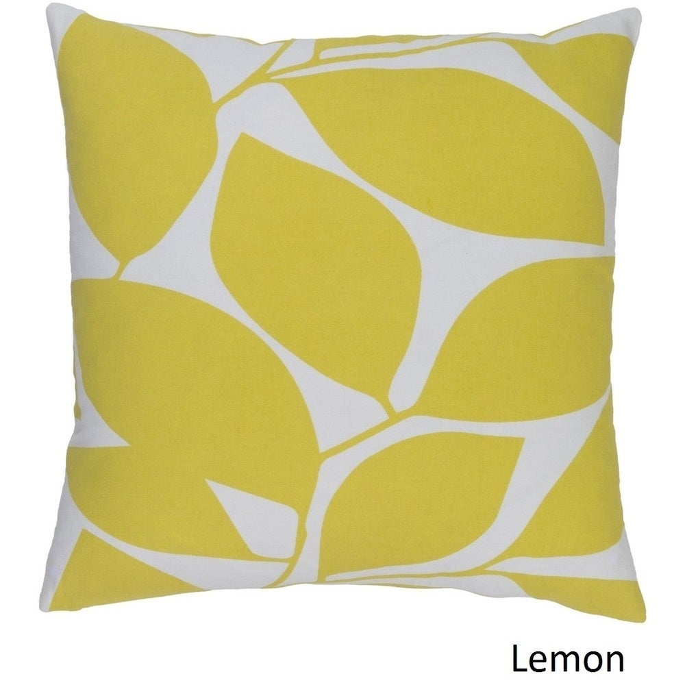 Shop Decorative Path 20-inch Poly or Feather Down Filled Throw Pillow - Overstock - 11484059