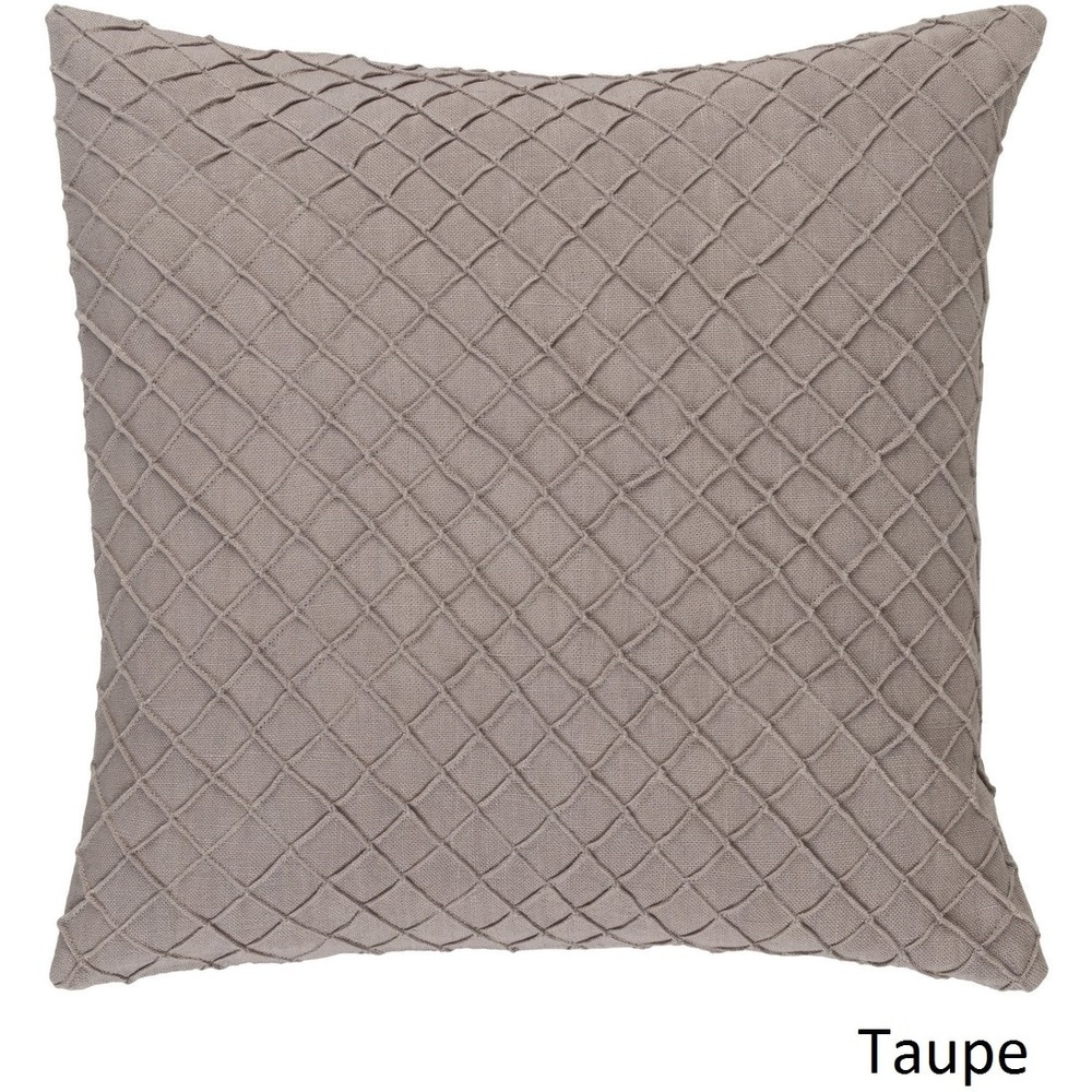 Shop Decorative Reed 18-inch Poly or Feather Down Filled Throw Pillow - 11484063