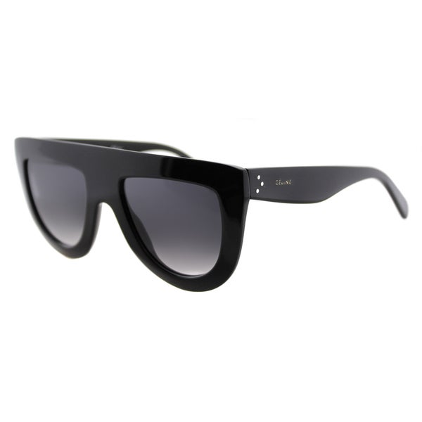 81f93c06a712 Celine CL 41398 Andrea 807 Black Plastic Grey Gradient Lens Fashion  Sunglasses