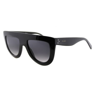 Celine CL 41398 Andrea 807 Black Plastic Grey Gradient Lens Fashion Sunglasses
