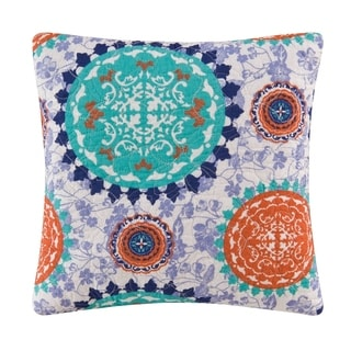 Zarina Quilted Throw Pillow - Set of 2
