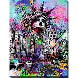 Bekim Mehovic 'Time Square' Giclee Print Canvas Wall Art