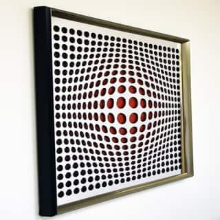 Designart Contemporary Vortex Mirror Framed Acrylic Mirror|https://ak1.ostkcdn.com/images/products/11484122/P18438516.jpg?impolicy=medium
