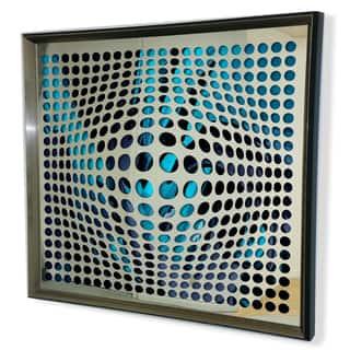 Designart Modern Acrylic Mirror Framed Vortex Art Mirror|https://ak1.ostkcdn.com/images/products/11484134/P18438515.jpg?impolicy=medium